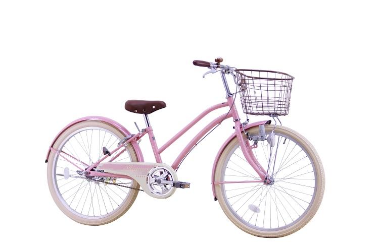 くすみ系ピンクカラー
